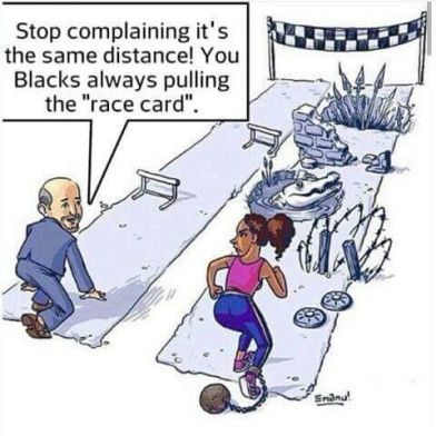 THE UNEQUAL OPPORTUNITY RACE